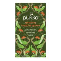 Pukka Herbs Thé Ginseng Matcha Green 20 pièces
