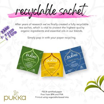 Pukka Herbs Thee Ginseng Matcha Green 20 stuks
