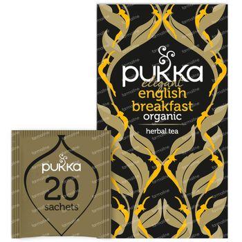 Pukka Herbs Thee Elegant English Breakfast 20 stuks