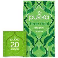 Pukka Herbs Thé Three Mint 20 pièces
