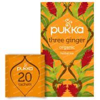 Pukka Herbs Thé Three Ginger 20 pièces