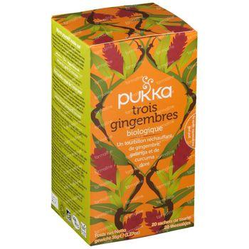 Pukka Herbs Thee Three Ginger 20 stuks