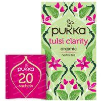 Pukka Herbs Thee Tulsi Clarity 20 stuks