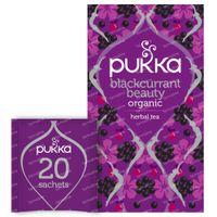 Pukka Herbs Thé Blackcurrant Beauty 20 pièces