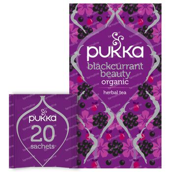 Pukka Herbs Thee Blackcurrant Beauty 20 stuks