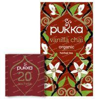 Pukka Herbs Thé Vanilla Chai 20 pièces