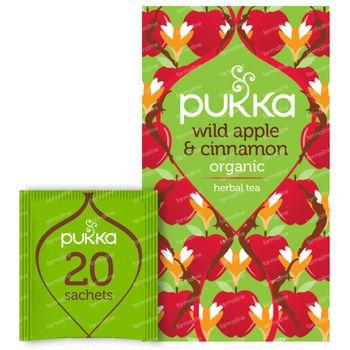 Pukka Herbs Thee Wild Apple & Cinnamon 20 stuks