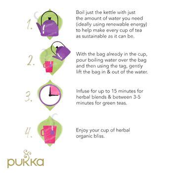 Pukka Herbs Thee Wonder Berry Green 20 stuks
