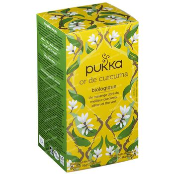 Pukka Herbs Thee Turmeric Gold 20 stuks