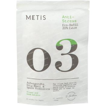 Metis Anti-Stress 03 Navulling 48 capsules