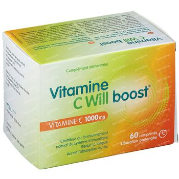 Vitamine C Will Boost 60 tabletten