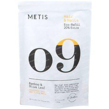 Metis Hair & Nails 09 Navulling 72 capsules