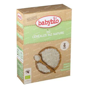 Babybio Babygranen Rijst Bio 6 Maanden 200 g