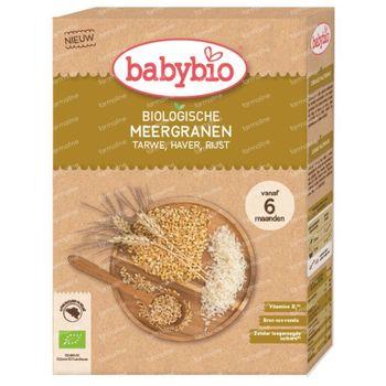 Babybio Babygranen Meergranen Bio 6 Maanden 200 g