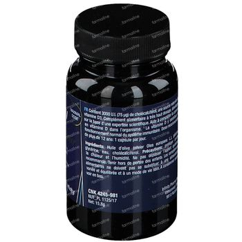 Yuliv Vitamine D 3000 90 capsules