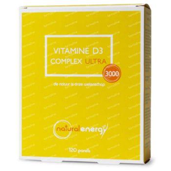 Natural Energy Vitamine D3 Complex Ultra 120 capsules