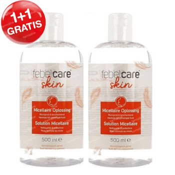 Febelcare Skincare Micellair Water 1+1 GRATIS 2x500 ml