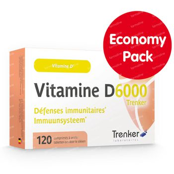 Vitamine D6000 120 tabletten