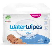 WaterWipes Lingettes Imprégnées Bio 4x60 pièces