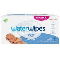 WaterWipes Lingettes Imprégnées Bio 9x60 pièces