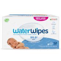 WaterWipes Lingettes Imprégnées Bio 12x60 pièces