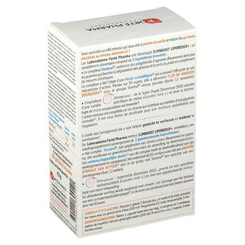 Forté Pharma SlimBOOST Liporedux + 60 capsules