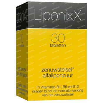LiponixX Nieuwe Formule 30 tabletten