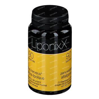 LiponixX Nieuwe Formule 90 tabletten