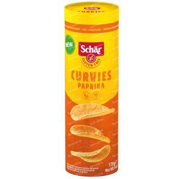Schär Curvies Paprika 170 g