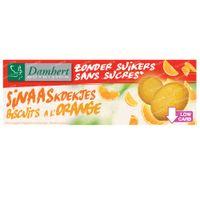 Damhert Sans Sucres Biscuits a l'Orange 160 g