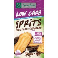 Damhert Sprits Chocolade Low Carb 120 g