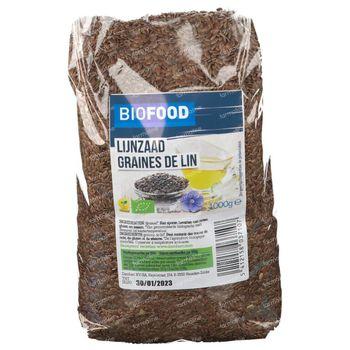 Biofood Lijnzaad Bio 1 kg