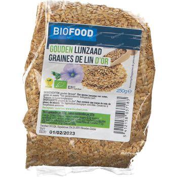 Biofood Gouden Lijnzaad Bio 250 g