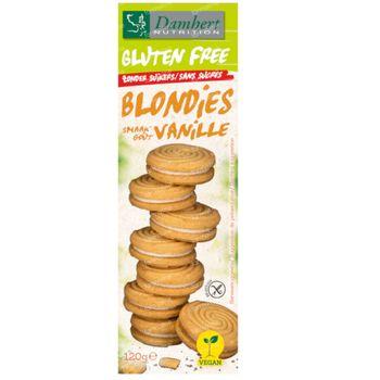 Damhert Gluten Free Blondies Zonder Suikers 120 g