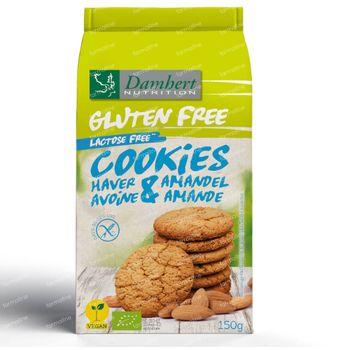 Damhert Gluten Free Haverkoekjes Amandel 150 g