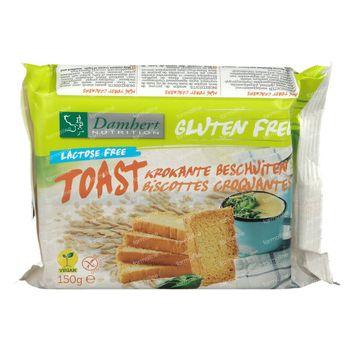 Damhert Gluten Free Toast Lactose Free 150 g