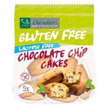 Damhert Gluten Free Chocolate Chip Mini Cakes Lactose Free 191,5 g