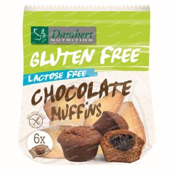 Damhert Gluten Free Mini Muffins Chocolade Lactose Free 185 g