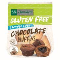 Damhert Gluten Free Mini Muffins Chocolat Lactose Free 185 g