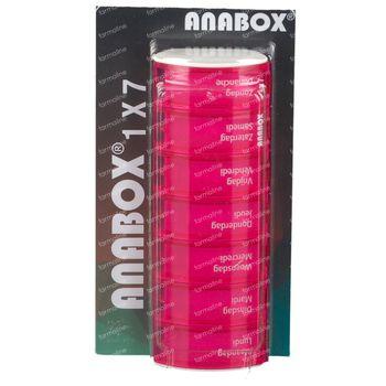 Anabox Pillendoos Week Roze 1 stuk