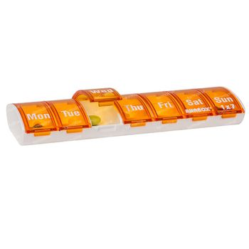 Anabox Pillendoos Week Oranje 1 stuk