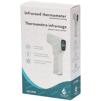 Magis Pharma Contactloze Digitale Infrarood Thermometer 1 stuk
