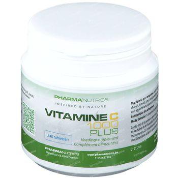 PharmaNutrics Vitamine C 1000 Plus 240 comprimés