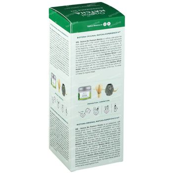 Biotona Original Matcha Experience Kit Grey & Green 1 set
