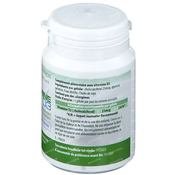 PharmaNutrics Vitamine D3 120 capsules