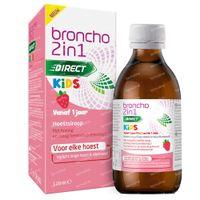 Broncho 2-in-1 Kids Hoestsiroop Aardbei - Droge Hoest, Slijmhoest 120 ml