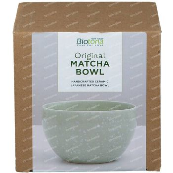 Biotona Matcha Bowl Green 1 stuk
