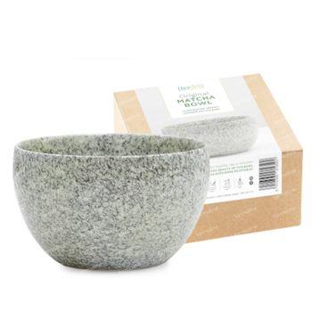 Biotona Matcha Bowl Grey & Green 1 stuk