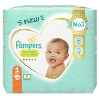 Pampers Premium Protection Taille 3 28 pièces