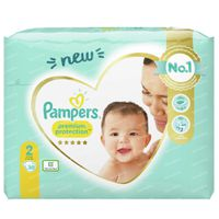 Pampers Premium Protection Taille 2 30 pièces